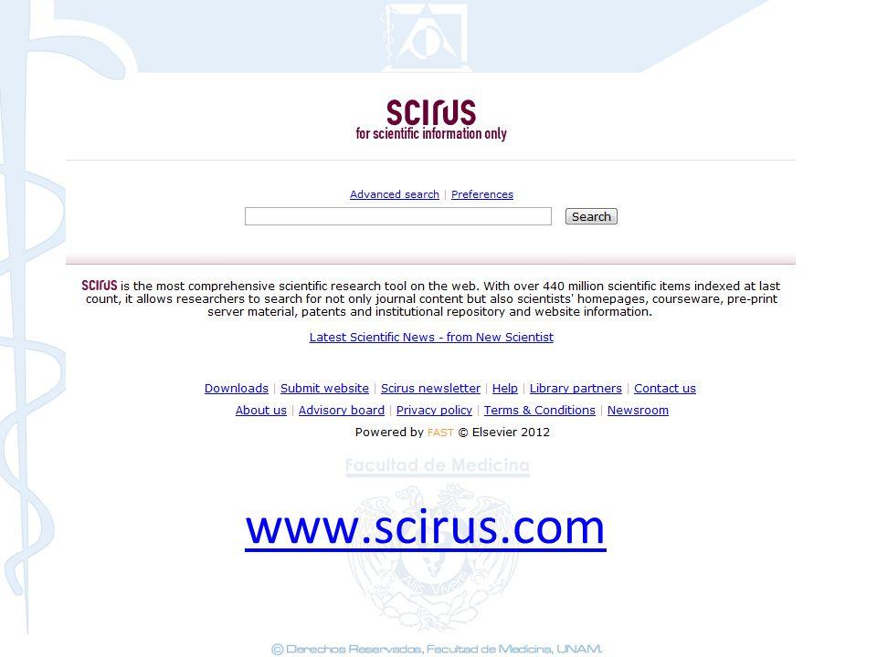 www.scirus.com 44