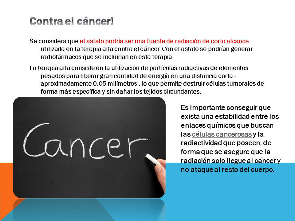 Contra el cáncer!