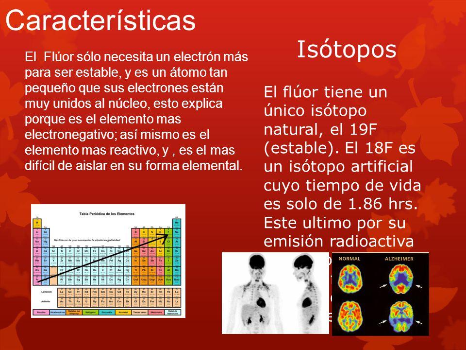 Características Isótopos
