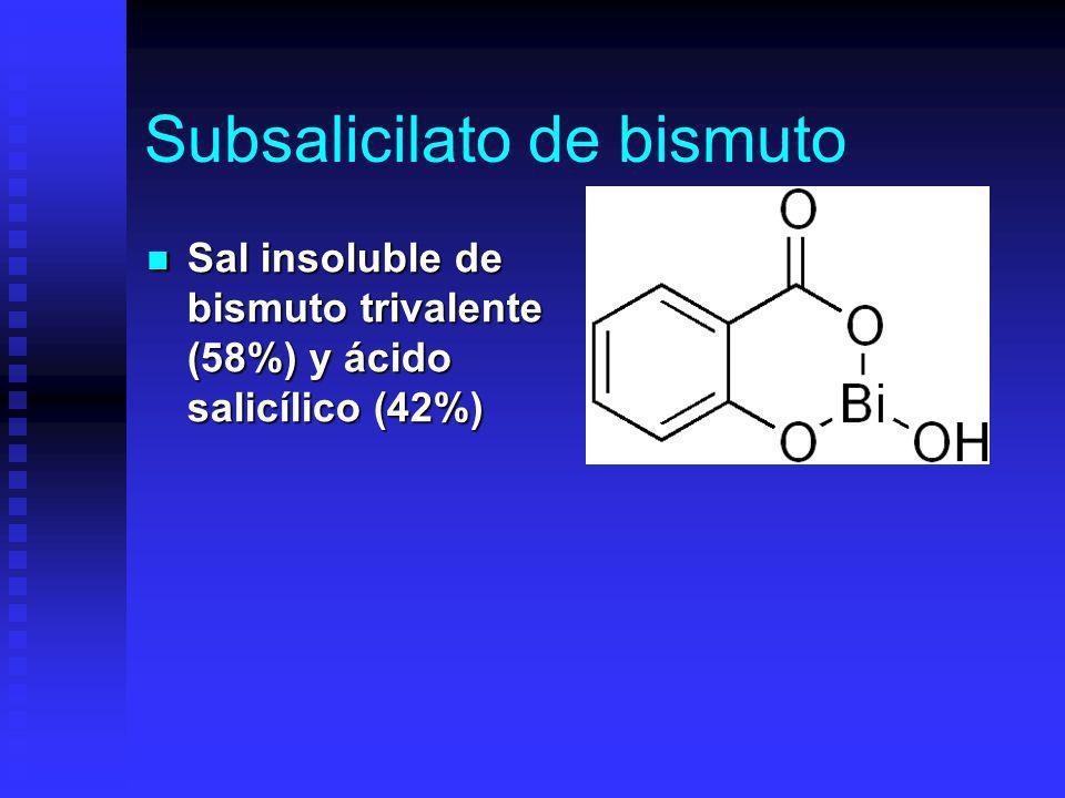 Subsalicilato de bismuto