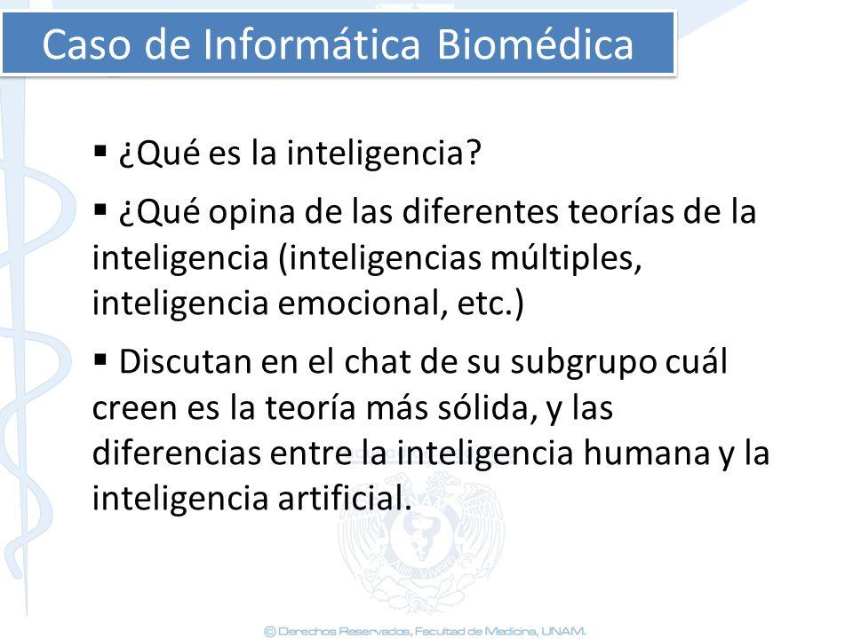 Caso de Informática Biomédica