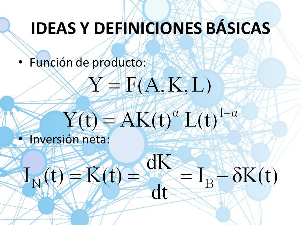 IDEAS Y DEFINICIONES BÁSICAS