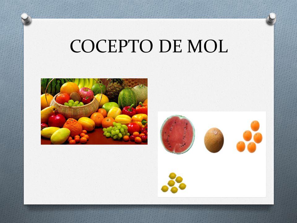 COCEPTO DE MOL