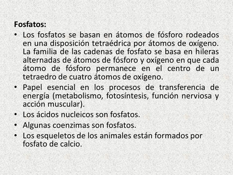 Fosfatos: