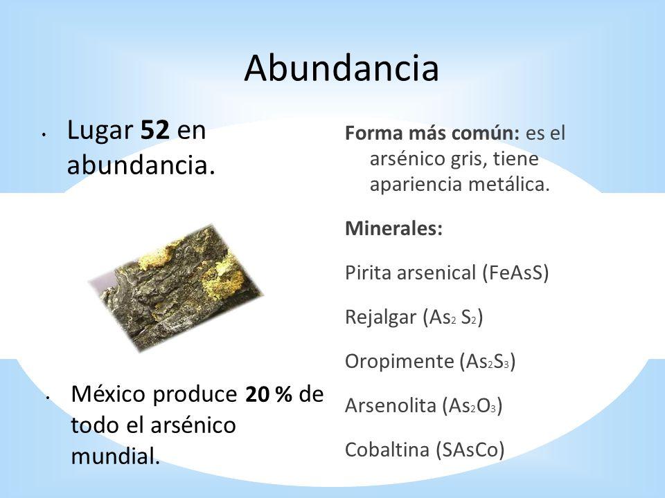 Abundancia Lugar 52 en abundancia.