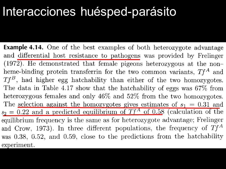 Interacciones huésped-parásito