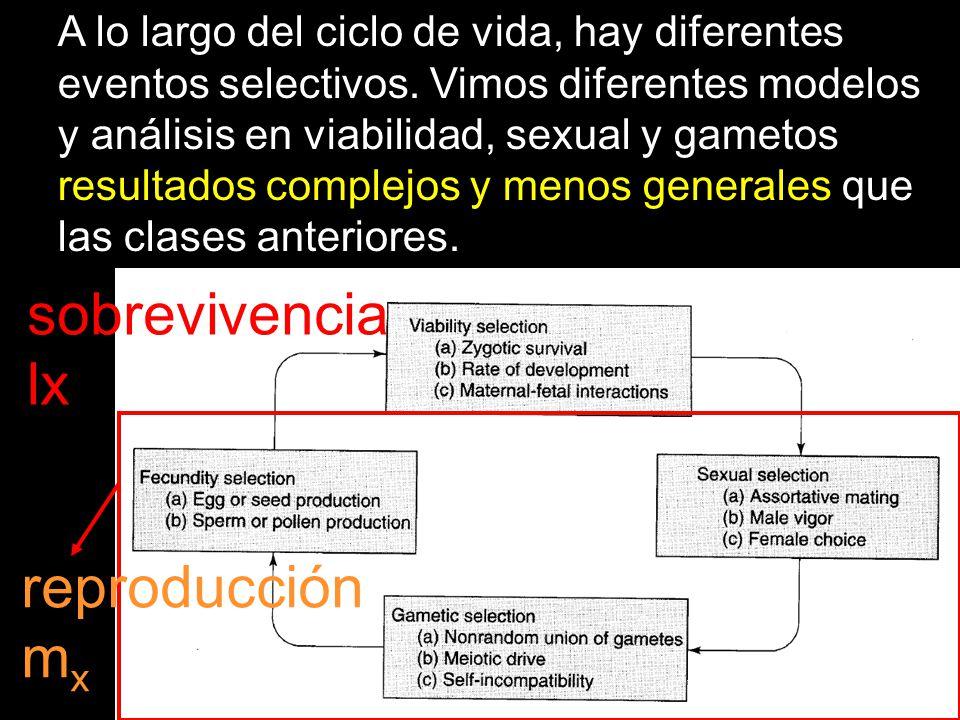 sobrevivencia lx reproducción mx