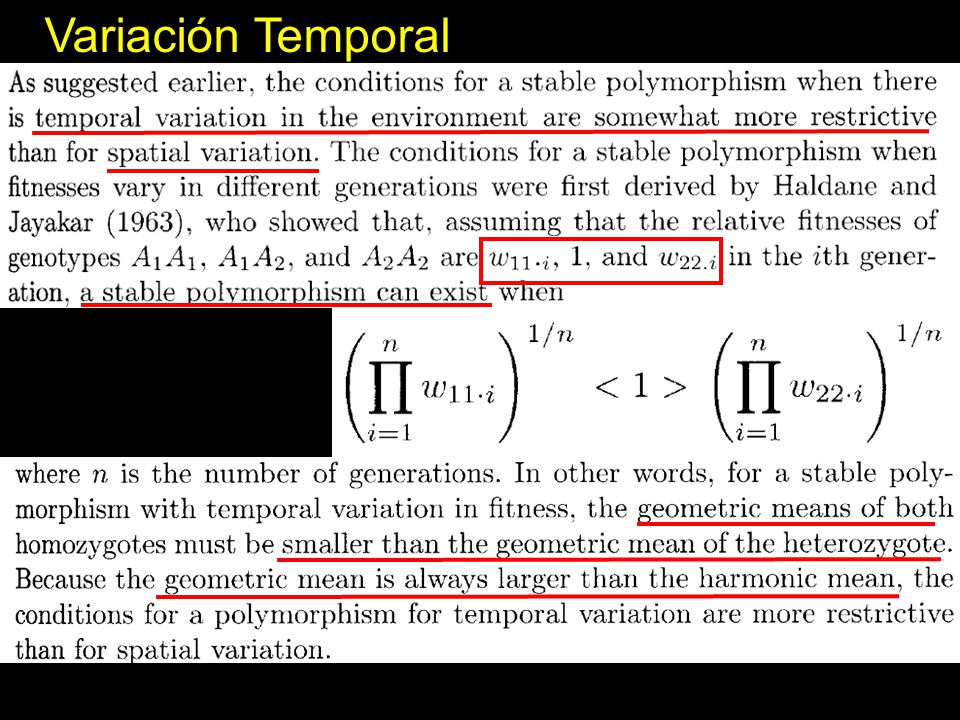 Variación Temporal