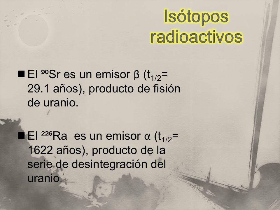 Isótopos radioactivos