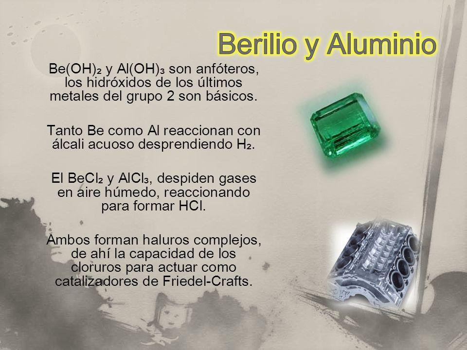 Berilio y Aluminio