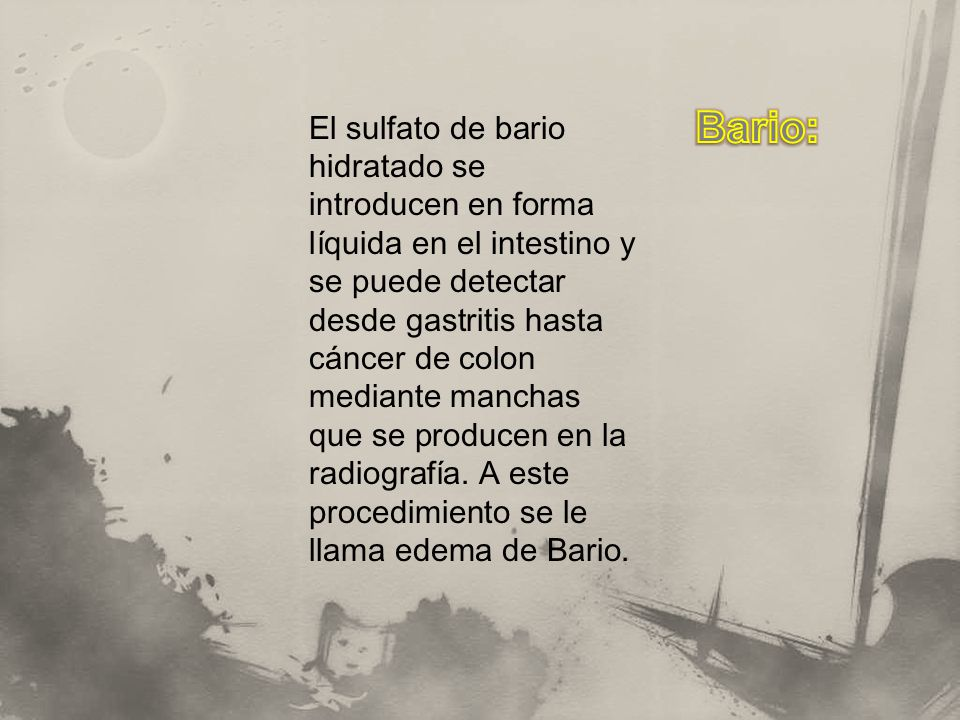 Bario: