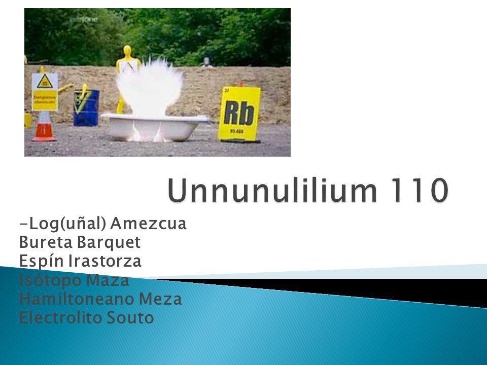 Unnunulilium 110 -Log(uñal) Amezcua Bureta Barquet Espín Irastorza