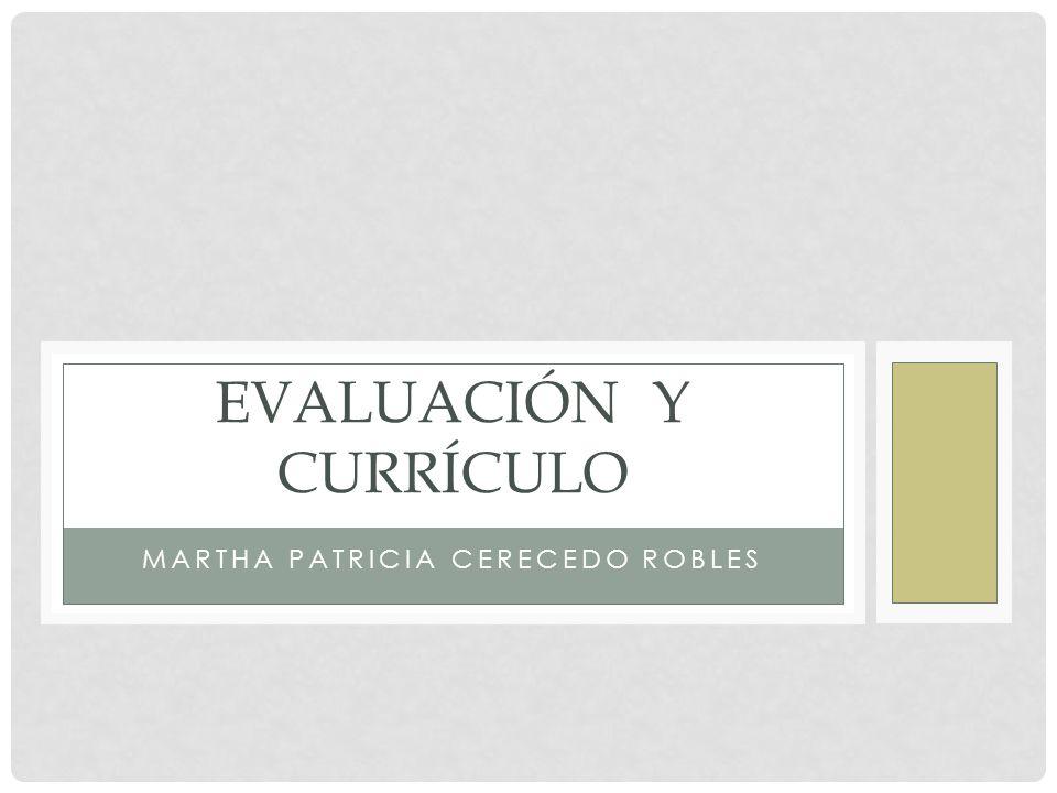 Evaluación y currículo