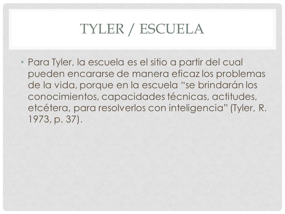 Tyler / escuela