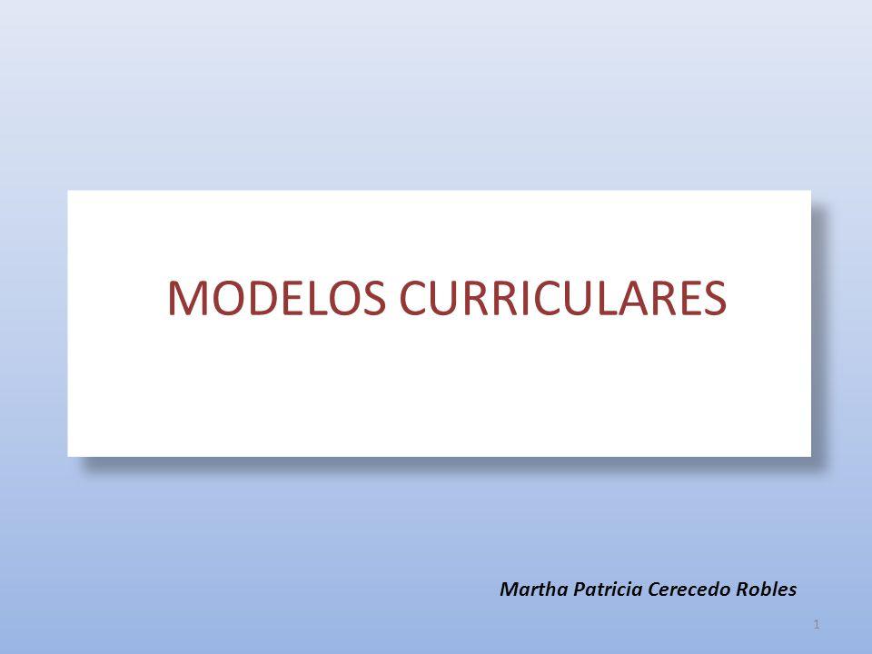 MODELOS CURRICULARES MODELOS CURRICULARES Dra. Teresa Sanz Cabrera