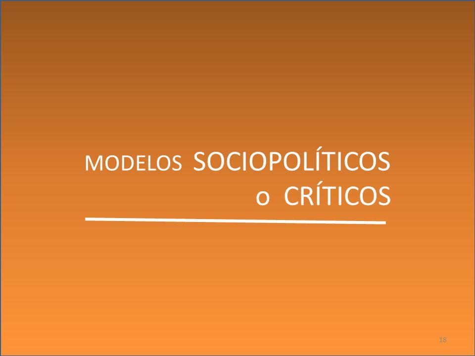 MODELOS SOCIOPOLÍTICOS