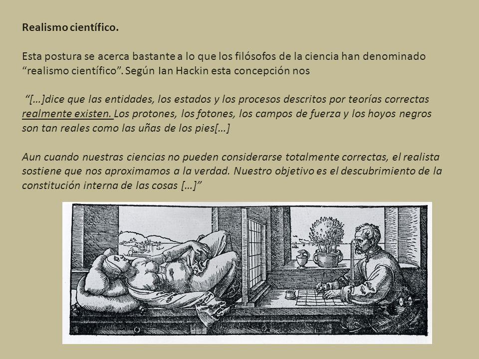 Realismo científico.