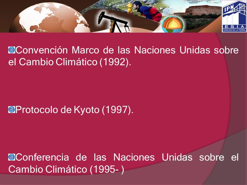 Convención Marco de las Naciones Unidas sobre el Cambio Climático (1992).