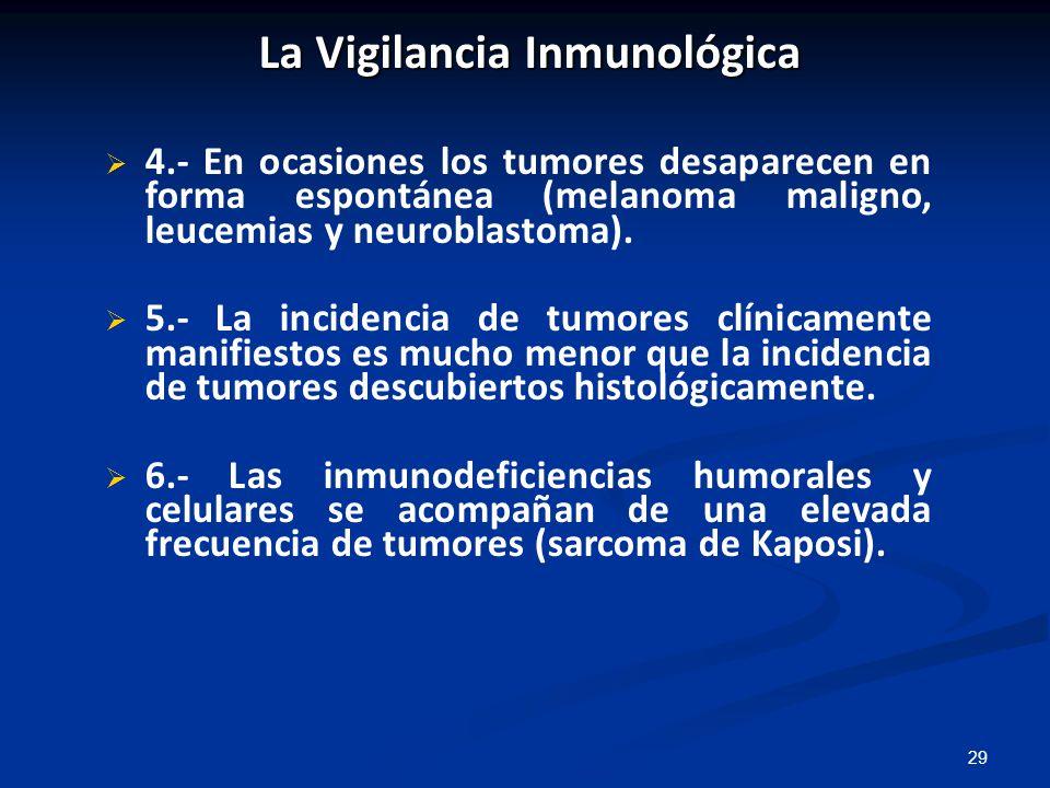 La Vigilancia Inmunológica