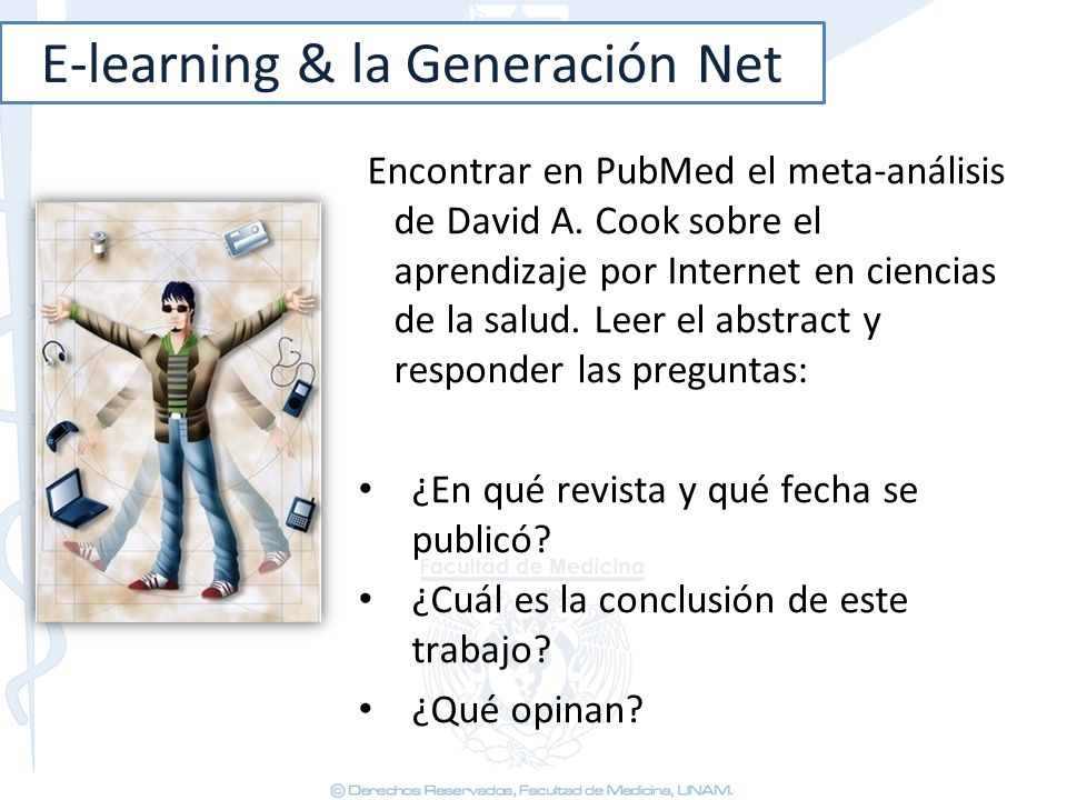 E-learning & la Generación Net