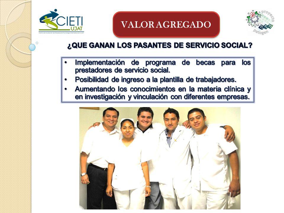 ¿QUE GANAN LOS PASANTES DE SERVICIO SOCIAL