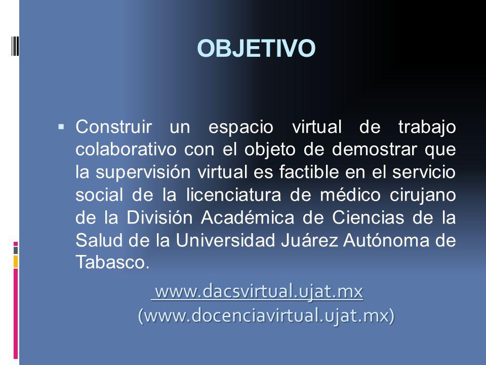 www.dacsvirtual.ujat.mx (www.docenciavirtual.ujat.mx)