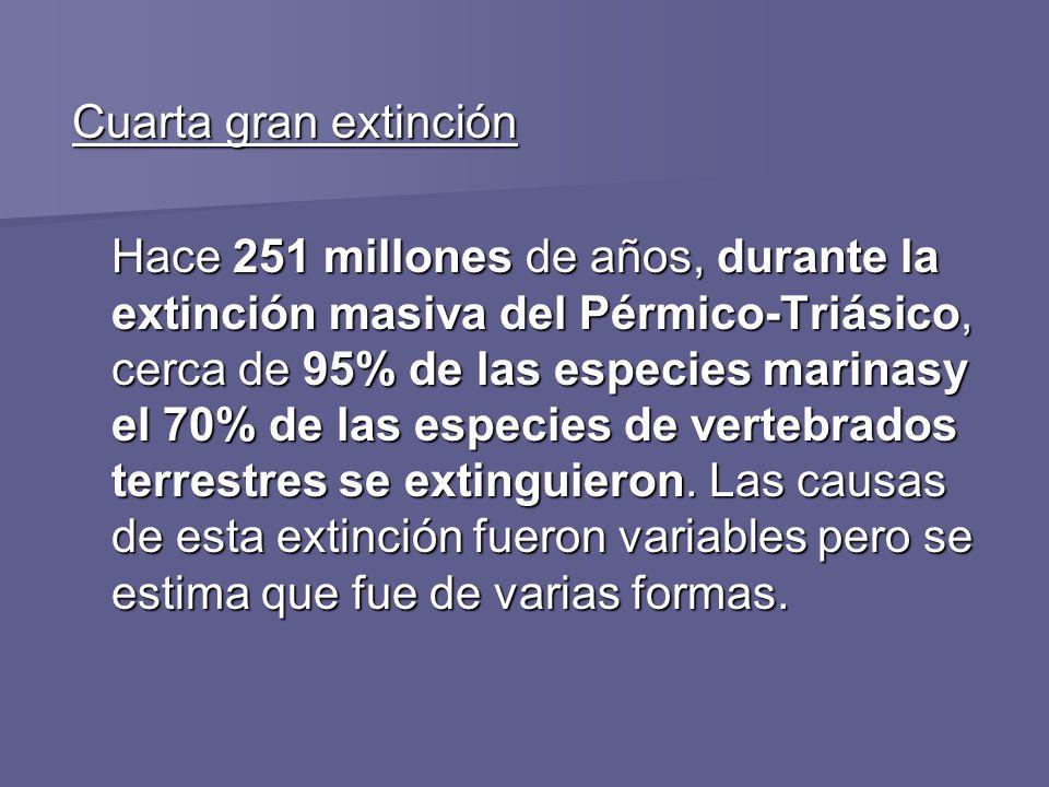 Cuarta gran extinción