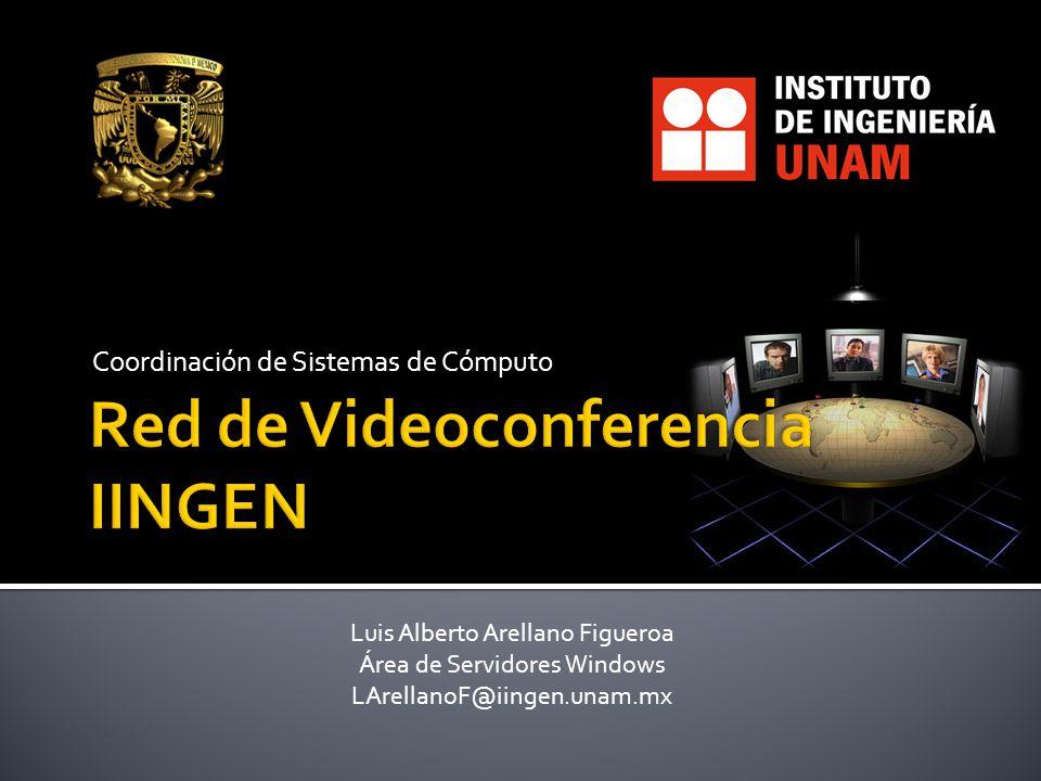 Red de Videoconferencia IINGEN