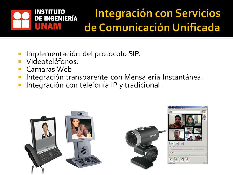 Integración con Servicios de Comunicación Unificada