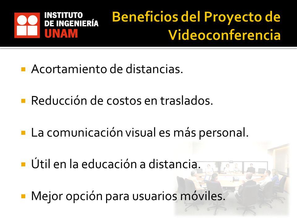Beneficios del Proyecto de Videoconferencia