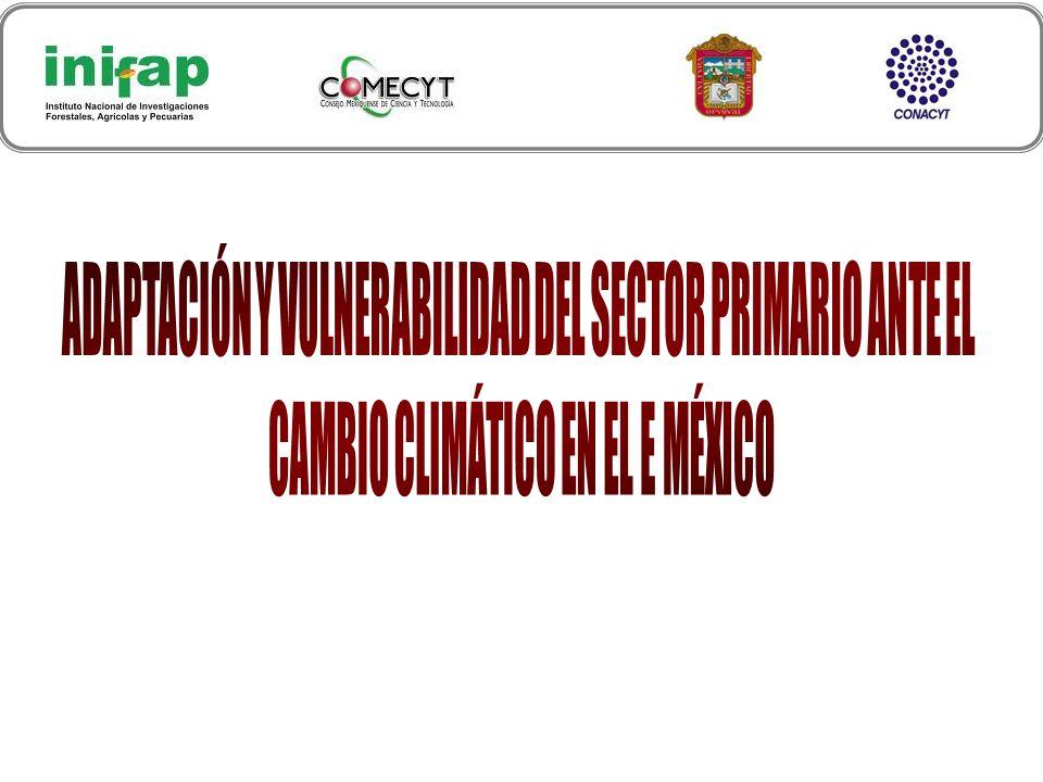 ADAPTACIÓN Y VULNERABILIDAD DEL SECTOR PRIMARIO ANTE EL