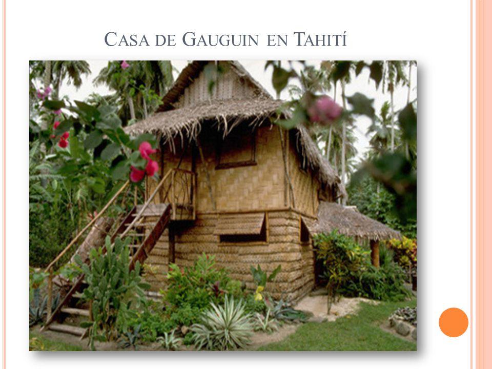 Casa de Gauguin en Tahití