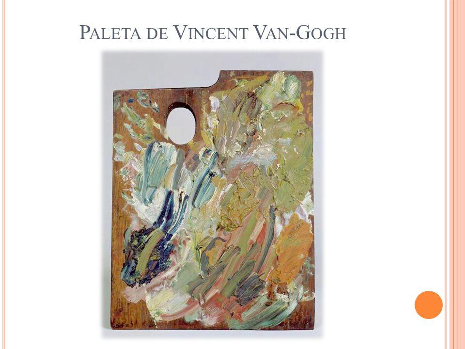 Paleta de Vincent Van-Gogh
