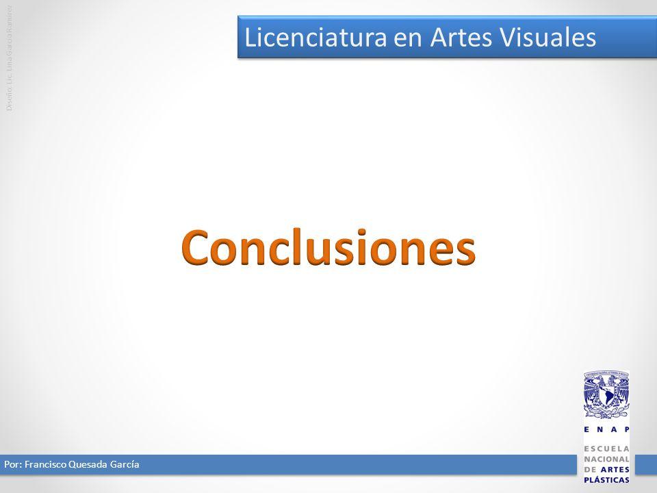 Conclusiones Licenciatura en Artes Visuales