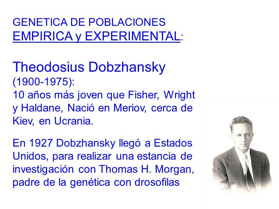 Theodosius Dobzhansky (1900-1975):