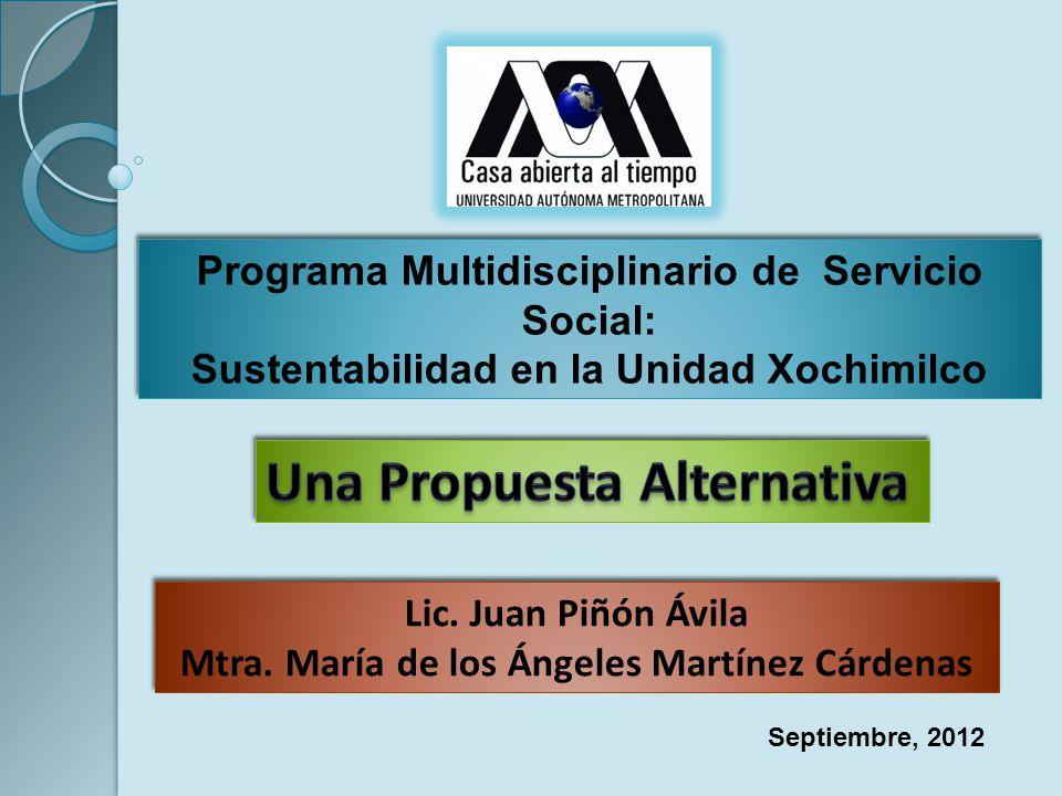 Mtra. María de los Ángeles Martínez Cárdenas