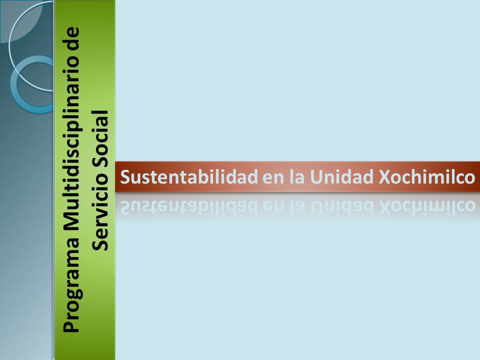 Programa Multidisciplinario de Servicio Social