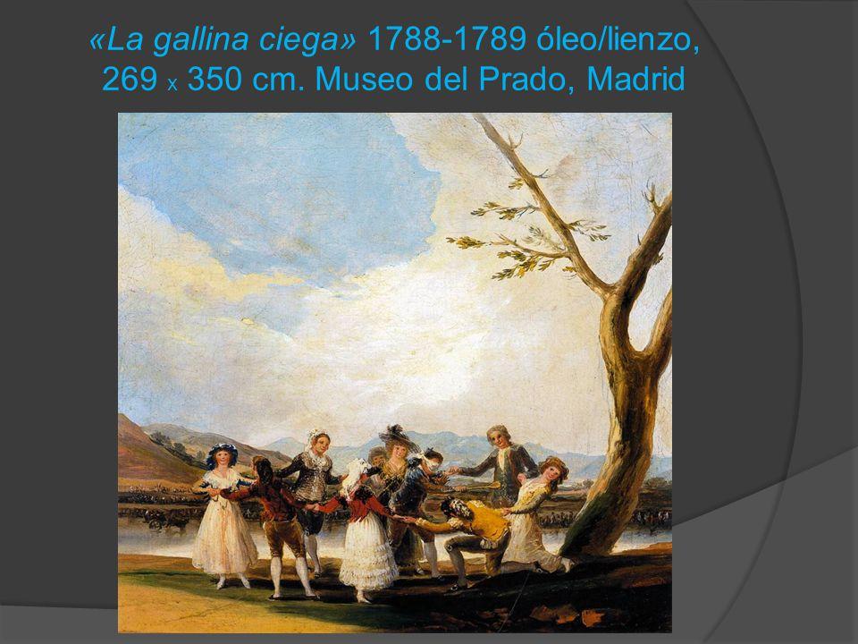 «La gallina ciega» 1788-1789 óleo/lienzo, 269 x 350 cm