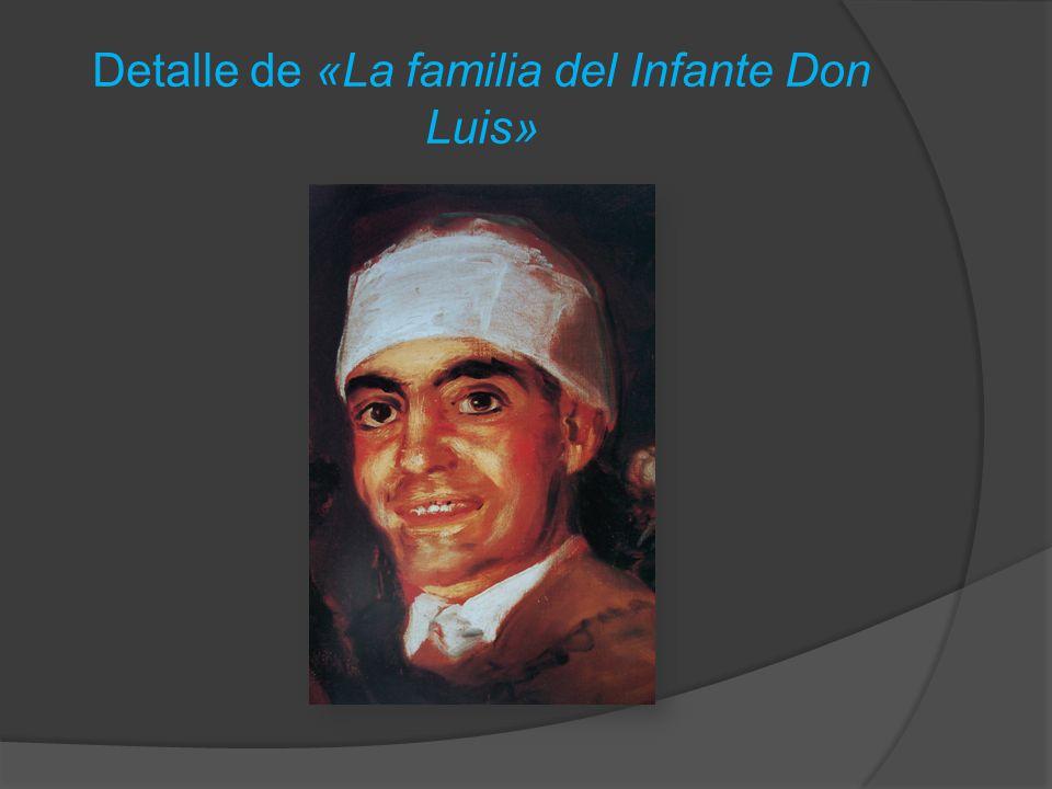 Detalle de «La familia del Infante Don Luis»