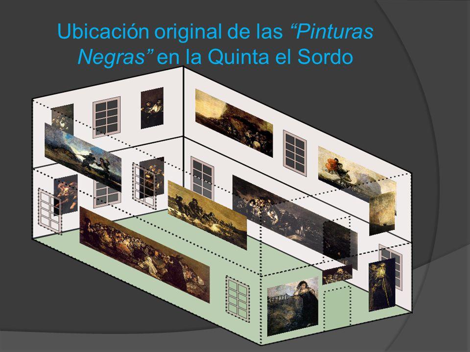 Ubicación original de las Pinturas Negras en la Quinta el Sordo