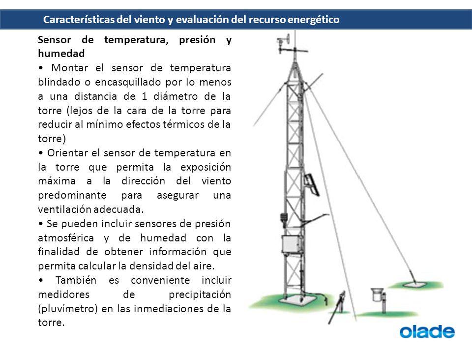 Sensor de temperatura, presión y humedad