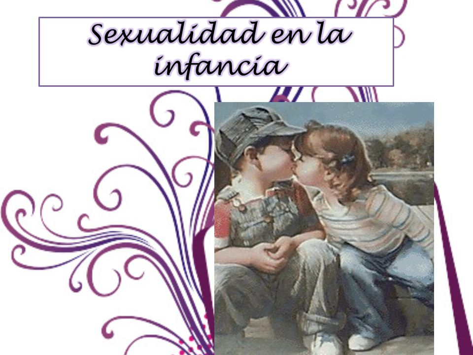 Sexualidad en la infancia