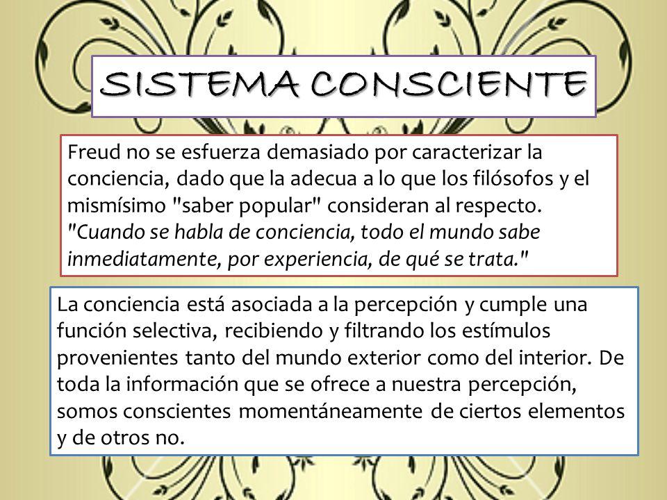 SISTEMA CONSCIENTE