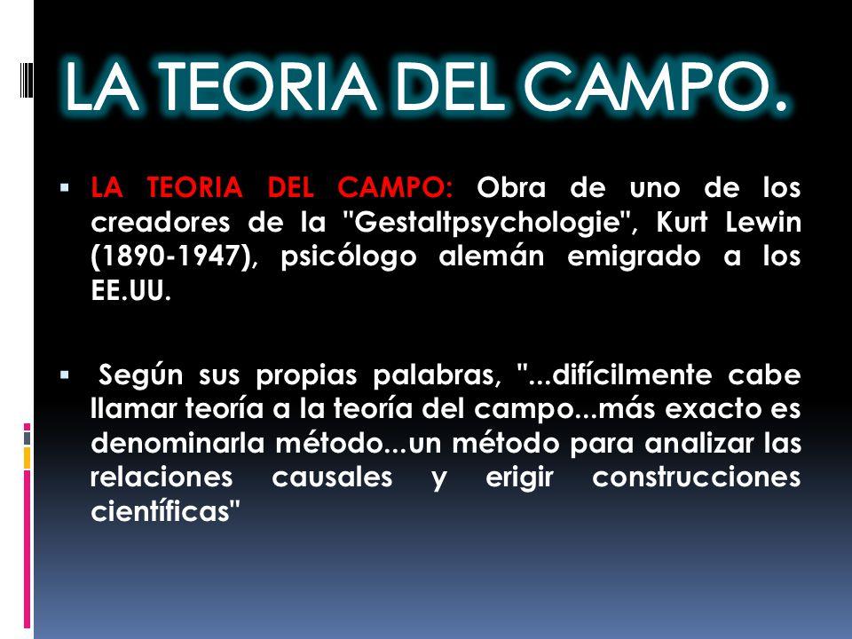 LA TEORIA DEL CAMPO.