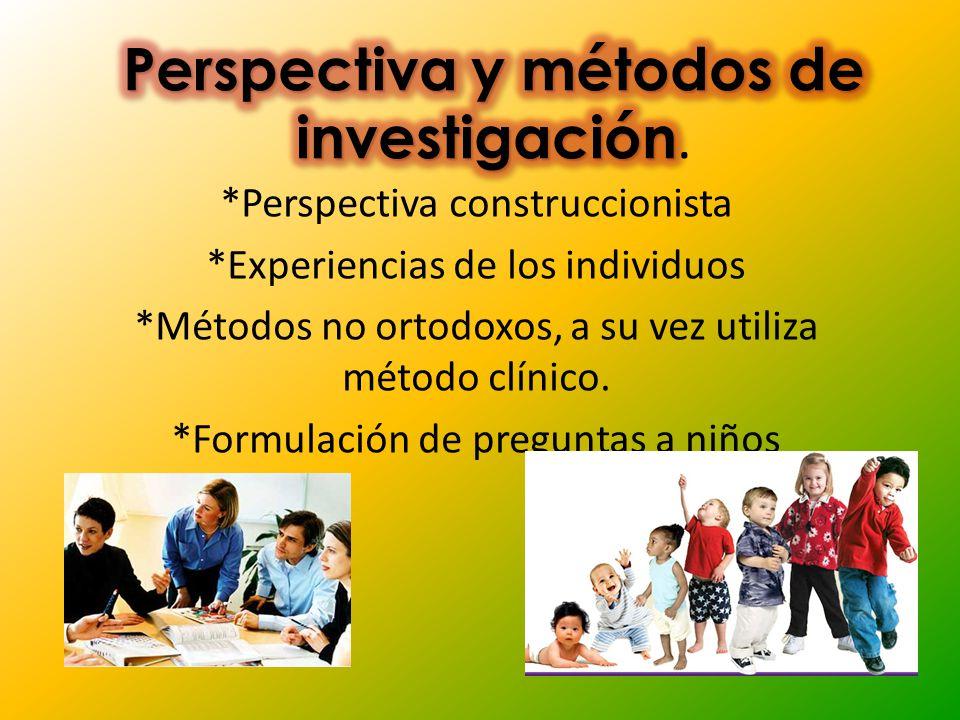 Perspectiva y métodos de