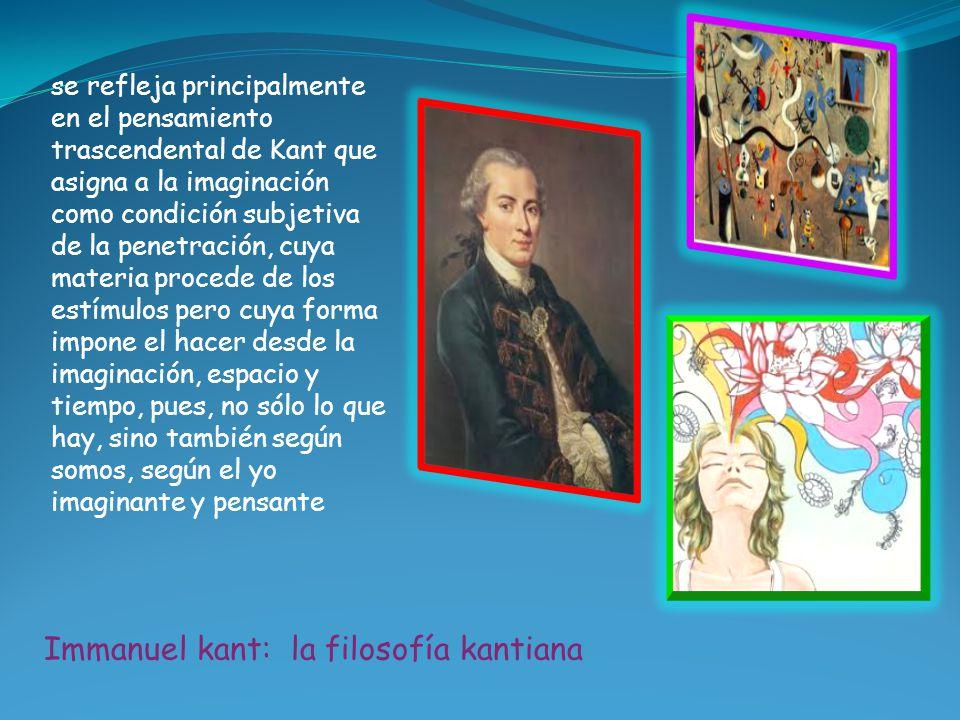 Immanuel kant: la filosofía kantiana