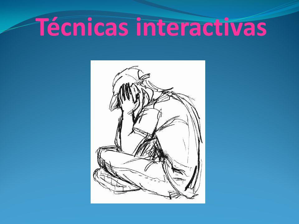Técnicas interactivas
