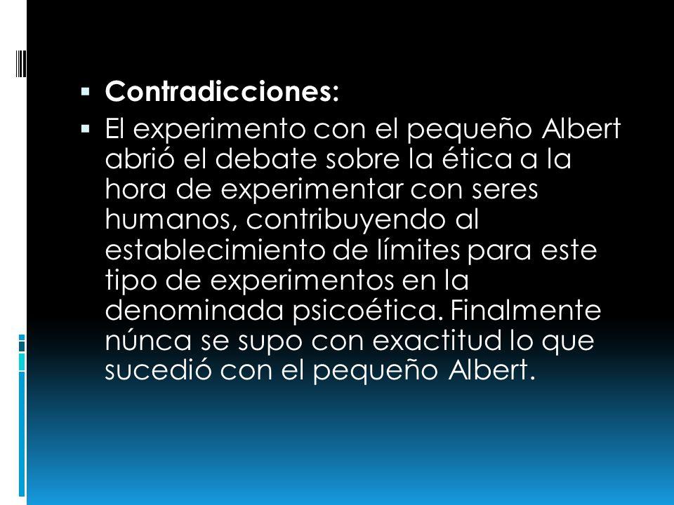Contradicciones: