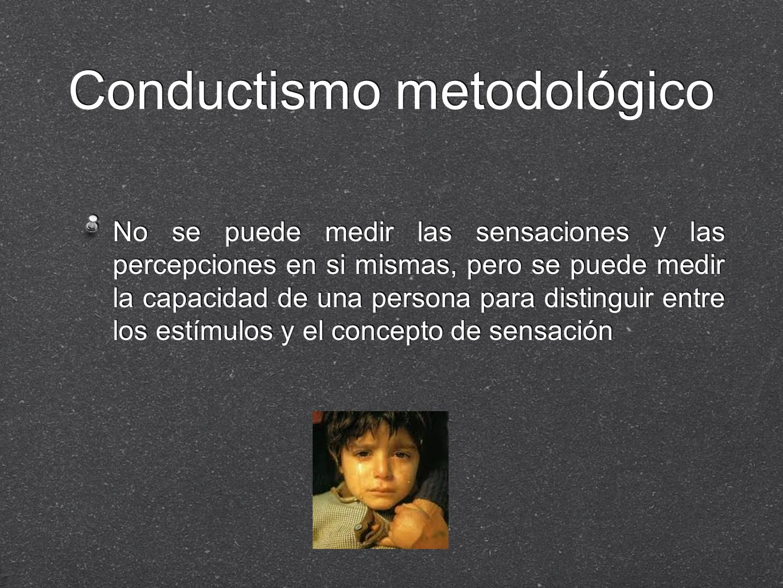 Conductismo metodológico