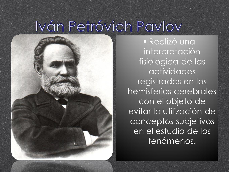 Iván Petróvich Pavlov